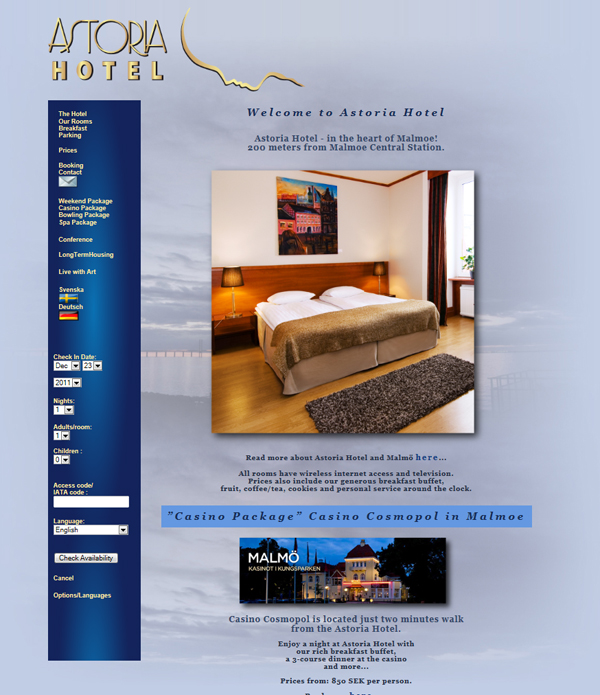 AstoriaHotel.se